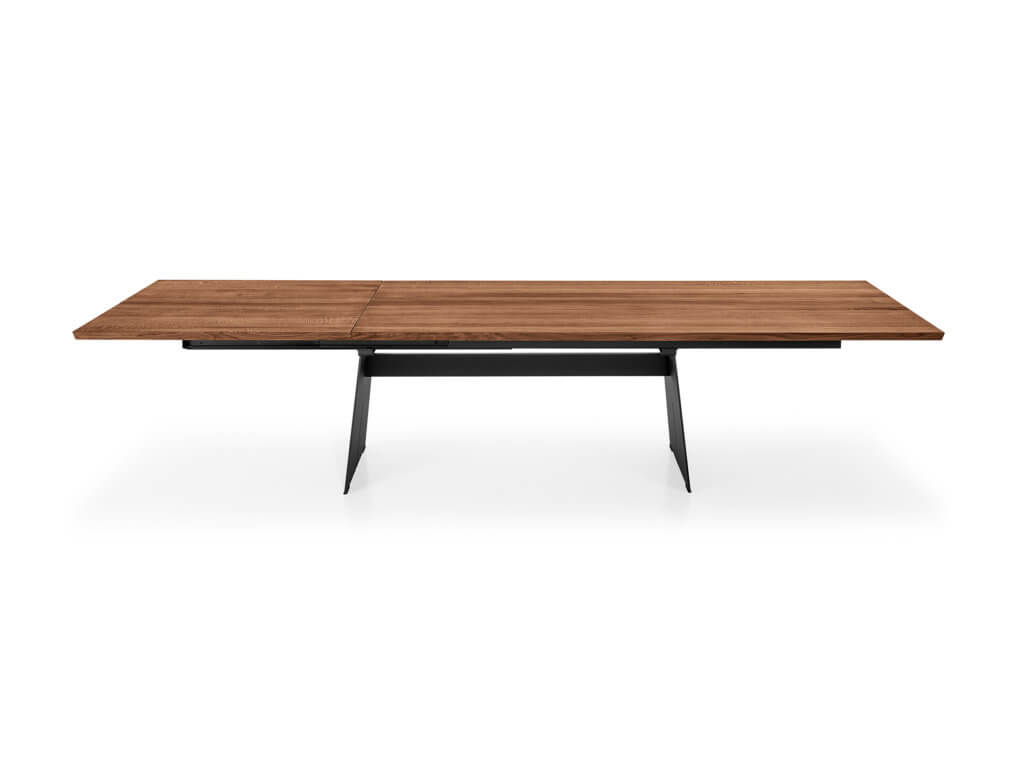 Table | CAVO SLIDE | american walnut solidFoot Stan Steel