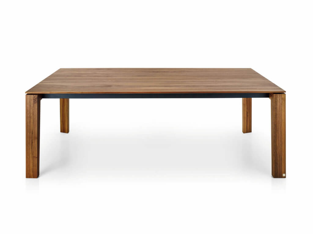 Table STAGE | american walnut solid | foot STAGE